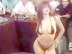 Michelle/Bridget/Brooke Thompson Smoking Hot 90s Bikini Contest Girl Video