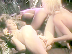 The Catwoman (Lesbian Scene) (Blond Eats Hairy Pussy POV)