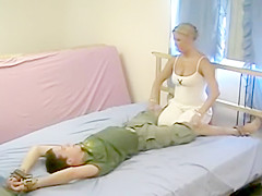 corbin tickled by a GIRL vintage