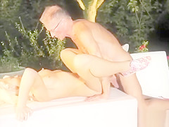 Teen blows old man and doris ivy anal old and german girl old man and old