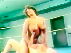 Vintage Wrestling Catfight