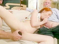 Old time vintage and old man asian girl and old man student and kinky old