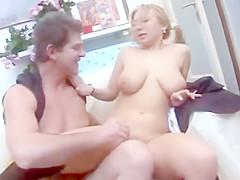 Couple italien femme mure