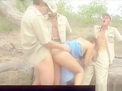 Diana, Outdoor Ganbang in the Kruger Park...