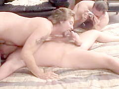 Amateur Bisexual Group Fucking