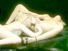 Traci I LoveYou -TraciLords BuriesHerFace Into MarylinJess's VeryHairyPussy