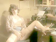 Sensual Charlotte's Vintage Masturbation