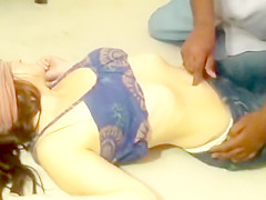 Lesbians seduction Belly sexy #2