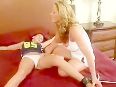 "Old Dailymotion clip ""Christina Carter Tickles Lani"" (Tickle Central)"