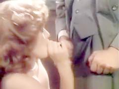 Lisa DeLeuw Vintage Blowjob, Cum on Tits