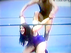 Mixed Ring wrestling. Vintage match 6