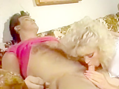 Retro Blonde Takes A Good Dicking