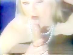 Vintage Deep Throat Effortless Throat Fuck by Hot Blonde