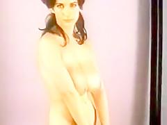 Vintage striptease big boobs vintage nylons GLOVES AND STOCKINGS