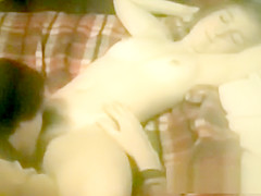 Vintage movie with small tits girl and hairy