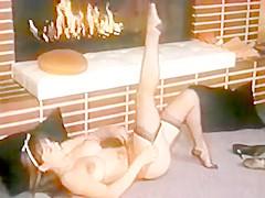 Fire - Vintage Nylons Striptease Dance Stockings
