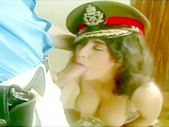 Julia, with her Perfect Tits Enjoys Anal Sex