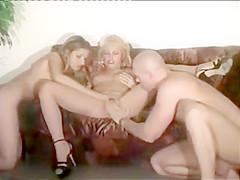 Vintage Lingerie Threesome