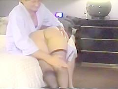 Erotic Spanking and Fingering