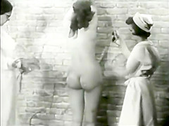Vintage Lezdom with Ugly Fat Mistress