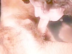 Jeffrey Hurst and Crystal Sync hot vintage bathtub fucking