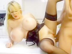KayIa KIeevage (monster tits, MILF, blond)
