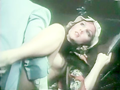 Jeffrey Hurst & Rebecca Brooke in vintage soap opera spoof sex