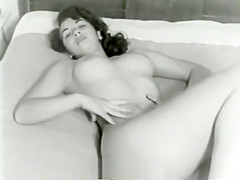 Cute Bitch Posing Naked on Bed