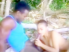 Vintage Outside Fucking Porn-Ray Victory (w/Nina De Ponca)