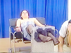 miss ticklish usa nylons