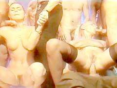 Zara Whites gangbang partouze
