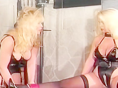 Mistress Francesca controls Her slaves