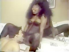 Vintage black pornstar mauvais denoir 1985.