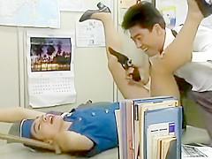 jap policewoman hot panty