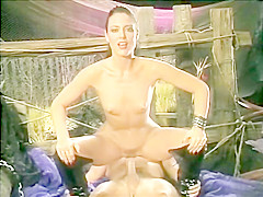 Jeanna Fine deepthroats and rides Peter North