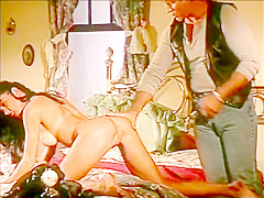 Hank Armstrong spanking Anna Malle vintage fetish bdsm