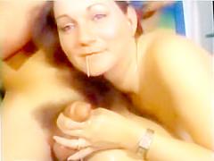 Vintage Porn BJ in Kitchen