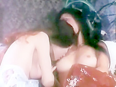Easy Alice - Annette Haven Buries Her Face Into Linda Wong's VeryHairyPussy