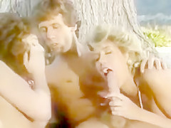 Tom Byron, Careena Collins, and Candy Evans Classic Threesome