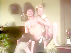 Aunt Peg threesome - great ass vintage