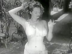 VINTAGE Stripper Betty Howard - 1940s