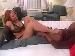Janet Mason - FootJob