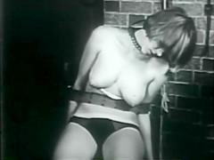 Bondage abduction fetish stag film 1960s