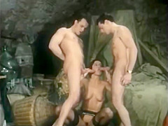 Busty Blonde Slammed Her Yummy Cunt in Bondage