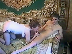 Porno from USSR. Wife slut. VHS video