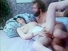 Father Fucks step-daughter, wife spys on them and joins in