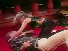 Vintage dominant slut whips and fucks