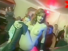 Kerry Matthews striptease