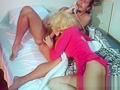 Vintage Alicyn Sterling swallows dick and banging