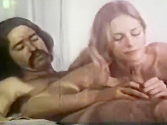 Vintage: Classic Hippies Joan and Jeff 1973